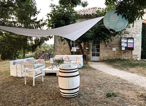 Camping avec ambiance glamping