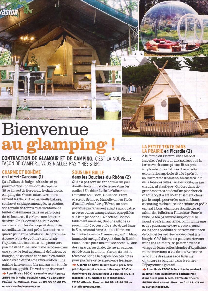 Article du magazine Femina