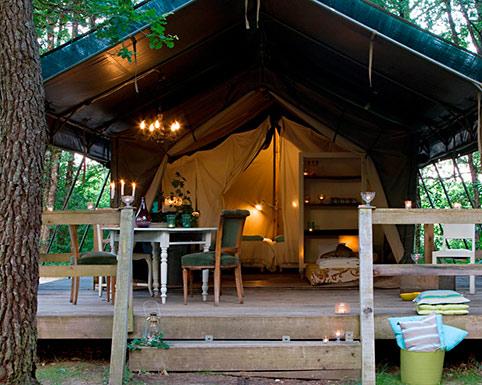 Camping de luxe en Lot-et-Garonne