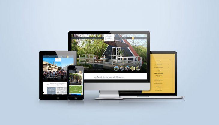 Nouveau site web camping